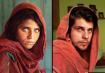 Reprodução da foto da menina afegã, deSteve McCurry