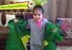 Sofia, filha de Fabiana Monte.