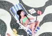 Beatriz em moda Sol, sal, sul/ Fotos Sergio Caddah