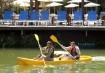 Os clientes podem usufruir o contato delicioso com a natureza no Santa Clara Eco Resort