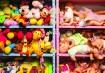 A brinquedoteca é lotaaaaada de brinquedos. É difícil ficar arrumadinha assim, rolou um mutirão para a foto!