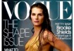 Brooke Shields na capa da Vogue