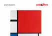 Onde está a letra F no quadro de Mondrian?