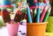 Além de colorido, é tudo de chocolate. Dá para ficar melhor? Inspiração: Constance Zahn Fotos: Kit Gaion