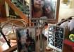 Para aumentar ainda mais o bom astral da casa, o porta-retratos giratório decora a sala com fotos divertidas da família