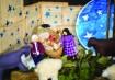 Jesus, José e Maria escolhidos entre os brinquedos que já existem na casa
