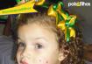 Ana Heloisa, filha da Jessica Maria.