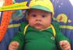 Lucas, filho de Janaina Navajas.